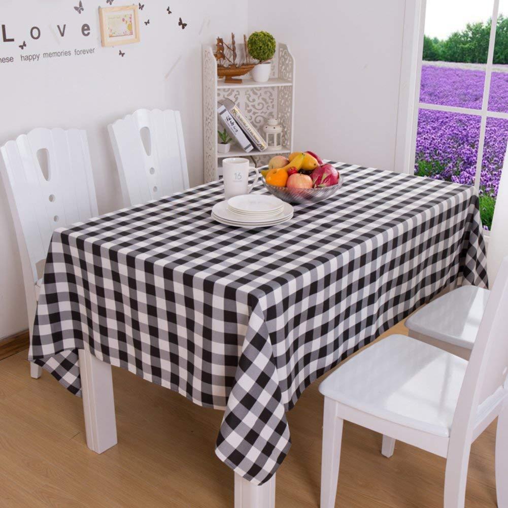 Shuangdeng 格子テーブルクロスホテルのテーブルクロスのスタイルテーブルクロス (Color : G, サイズ : 120x140cm(47x55inch)) 120x140cm(47x55inch) G B07S688L92