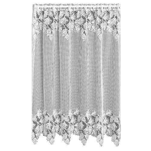 Heritage Lace Woodland 60-Inch Wide by 63-Inch Drop Panel, Ecru (Lace Curtain Woodland)