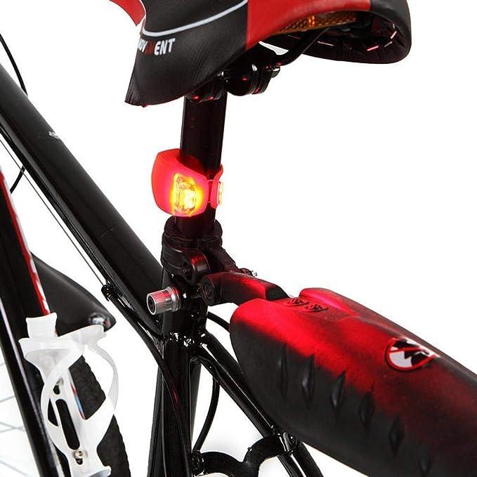 Dixinla Luz de Bicicleta Rana Luces Bicicleta luz Trasera ...