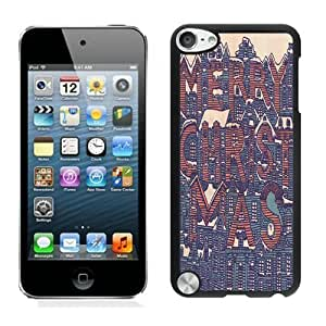 2014 New Style Merry Christmas Black For Iphone 4/4S Cover 19