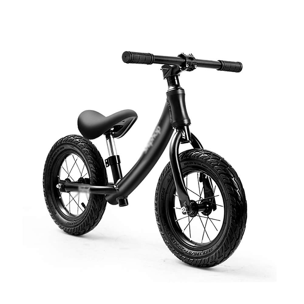 Bicicletas sin pedales Bicicleta de Equilibrio Ajustable con Marco de aleación de Aluminio, Bicicleta de Entrenamiento con neumático de Aire para niños de 2 a 6 años
