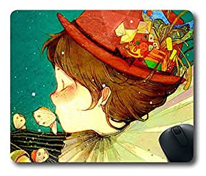 Funny Clown Thanksgiving Personlized Masterpiece Limited Design Oblong Mouse Pad by Cases & Mousepads
