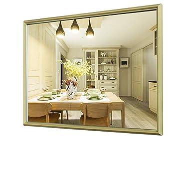 RENJUN Miroir de Salle de Bain Miroir Mural (Couleur : Bois ...