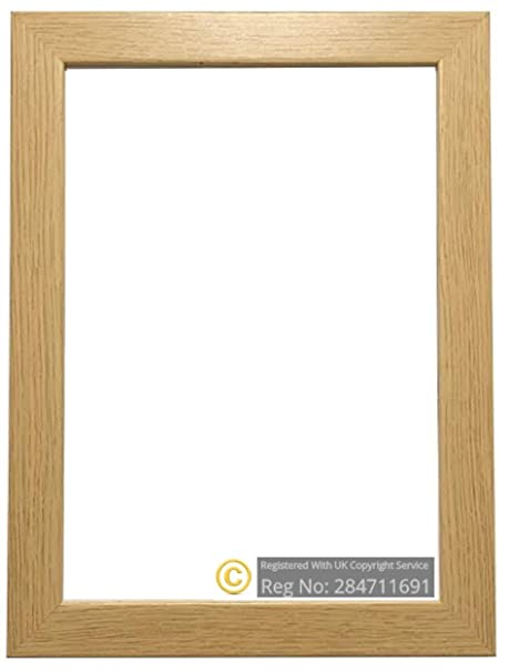 OAK WOODEN EFFECT PICTURE PHOTO POSTER FRAMES (20\