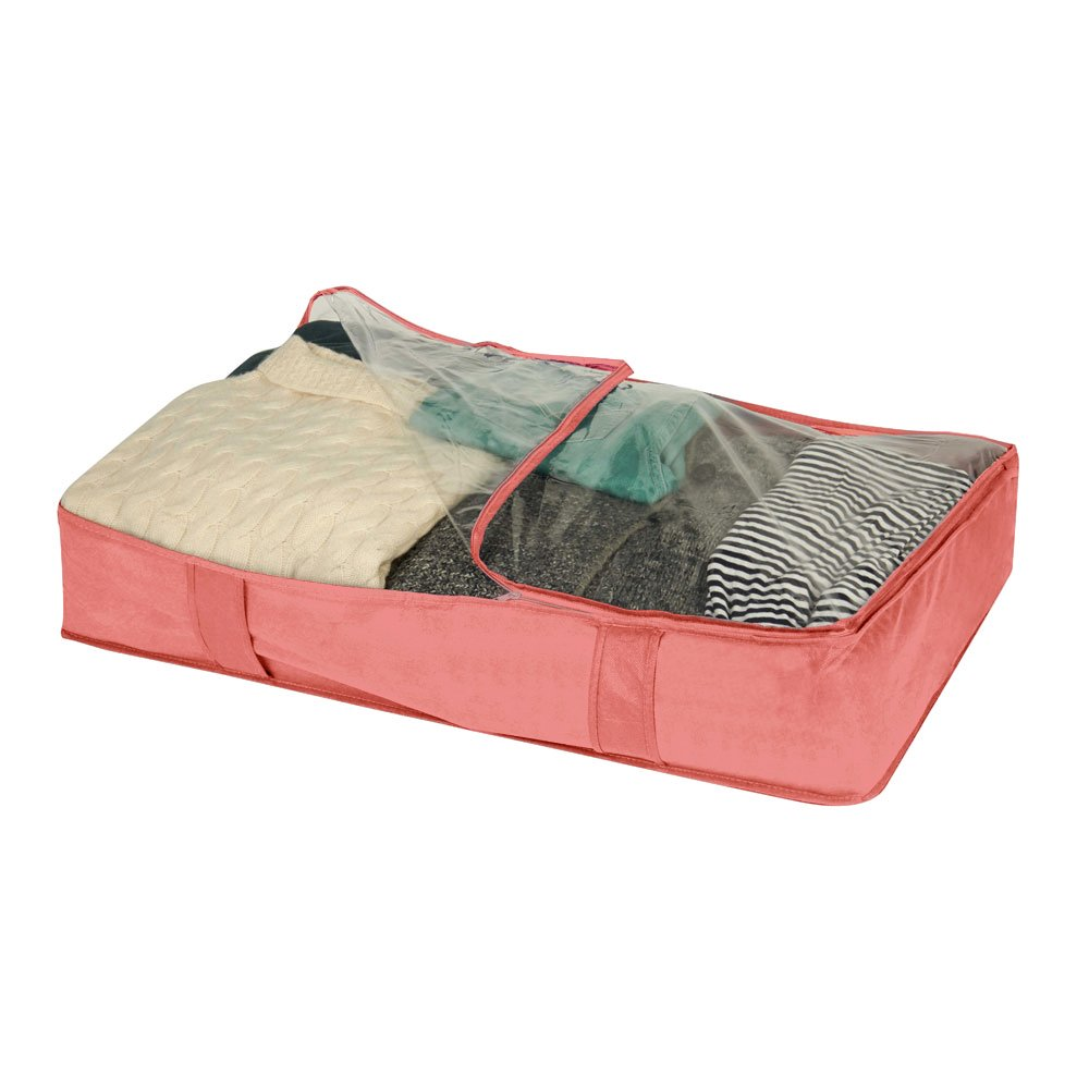 Campus Linens Oversized Underbed Organizer for College Dorm Storage (Color Gray) by Campus Linens (Image #3)
