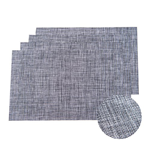 Dining Room Table Placemats: Set Of 4 Placemats,Placemats For Dining Table,Heat