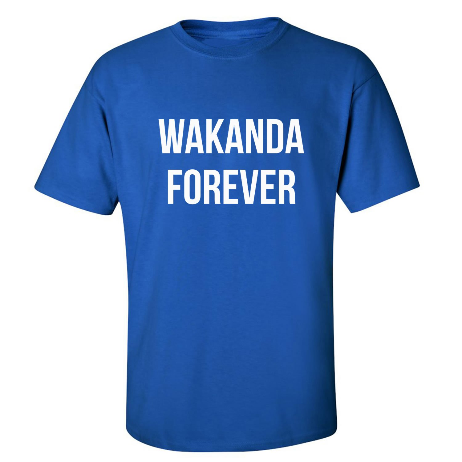 165d0b92e Amazon.com: Wakanda Forever Adult Short Sleeve T-Shirt: Clothing