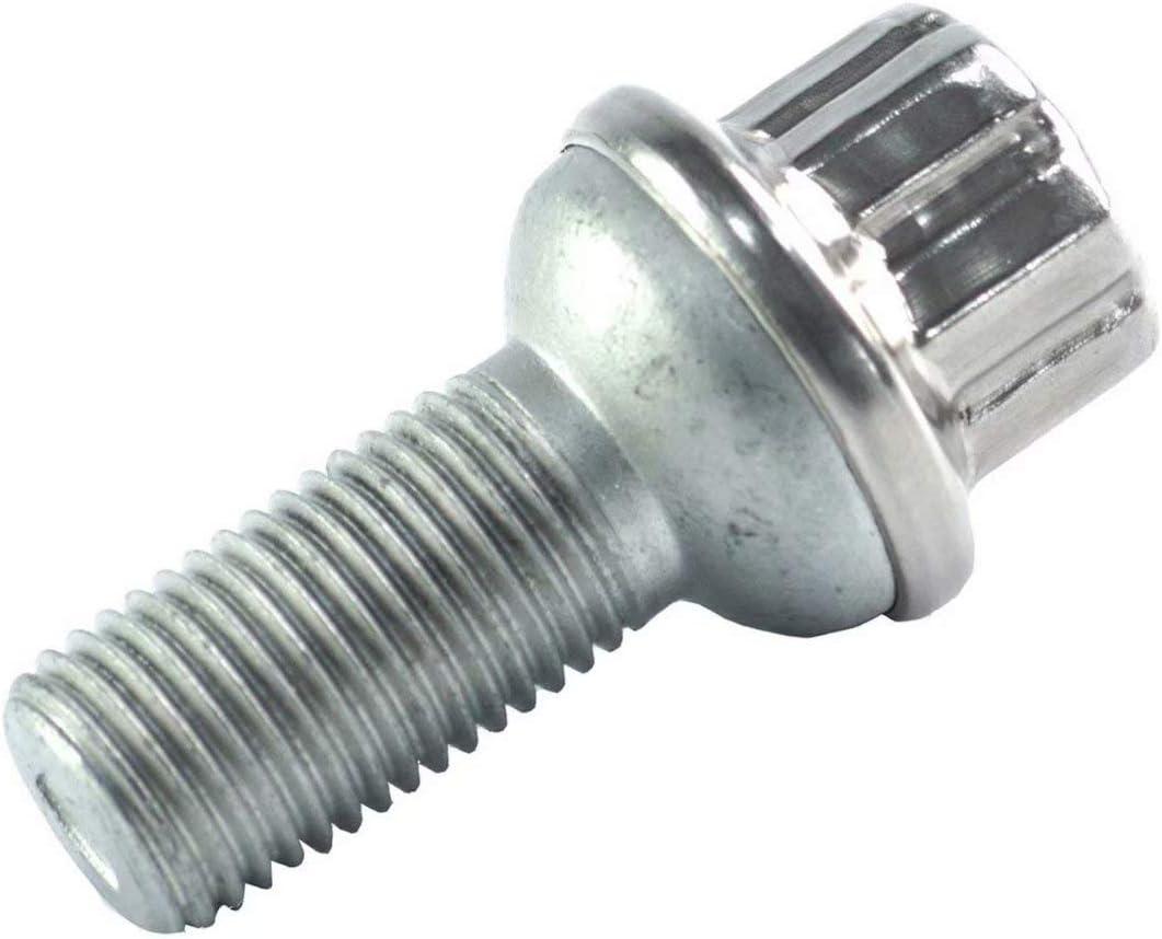 10pcs SS 2 Wheel Lug Bolt Nut Kit For Mercedes-Benz C207 W204 W212 W221