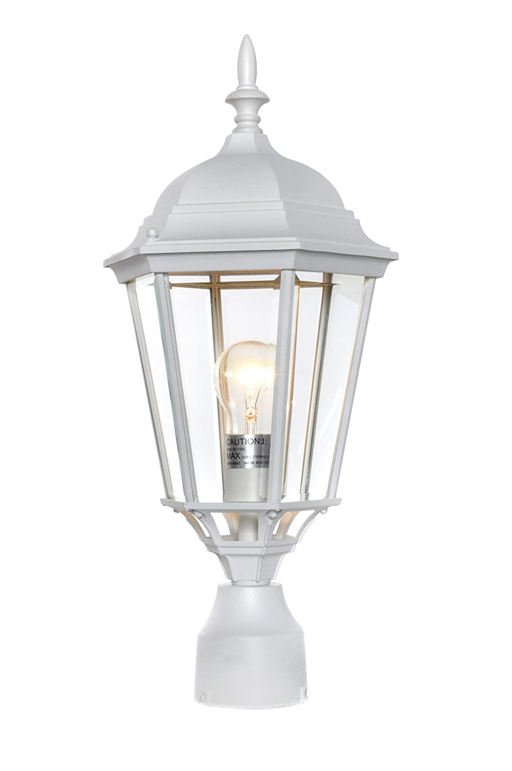 Maxim 1005EB, Westlake Cast,1-Light Outdoor Pole/Post Lantern, Empire Bronze Maxim Lighting