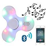 Kivors Bluetooth Speaker Fidget Spinner, Wireless Speakers Music Fidget Spinner Toy for Kids Adult Children's Day Gift