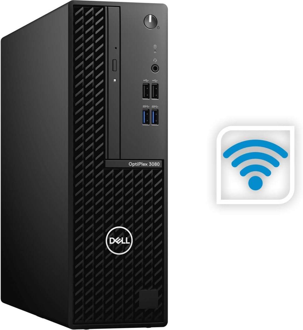 Newest Dell OptiPlex 3080 Business Desktop, Intel Core i5-10500 Processor up to 4.5GHz, 16GB RAM, 1TB PCIe SSD, Wireless-AC, HDMI, Windows 10 Pro, Black, Small Form Factor