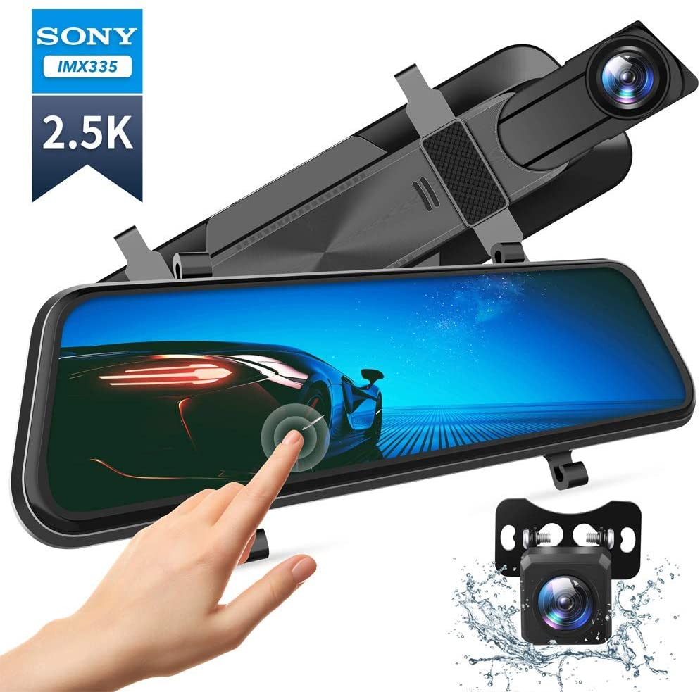VanTop H610 Rear View Mirror with Dash Cam