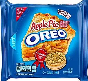 Oreo Cookies Apple Pie Graham Flavored Cookie Rare Oreos 10.7 Oz (1)