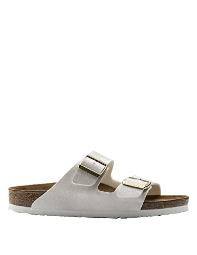 174a50802e7 Birkenstock Women s Arizona Animal Off White Sandals Off-White in Size UK 7  Regular  Amazon.co.uk  Shoes   Bags