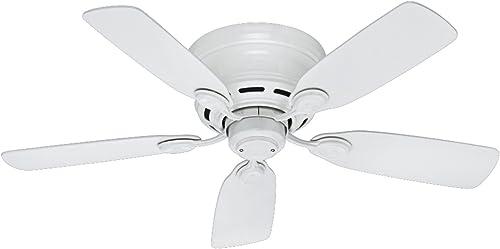 Hunter Fan Company 51059 Hunter Indoor Low Profile IV Ceiling Fan