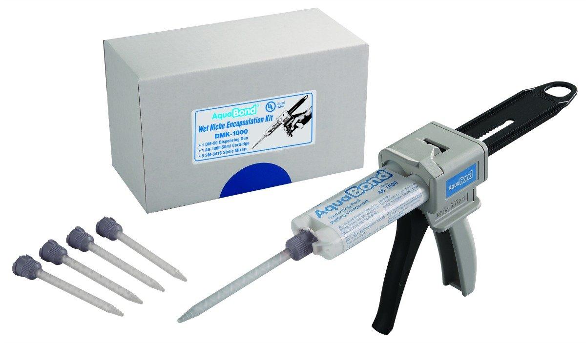 AquaBond Multi-Use Wet-Niche Pool Light Potting Compound Kit DMK-1000