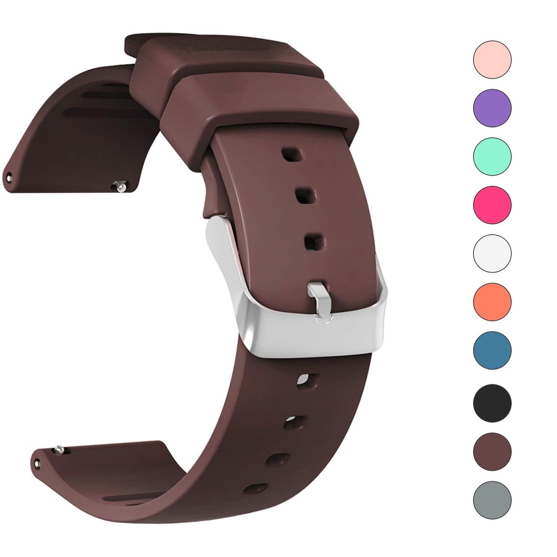 格安販売の jieliele 20/22 mm時計バンド、ultra-resilient通気性Wristbandsクイックリリース交換用バンドストラップfor Samsung Gear s2 Classic/Gear 2 Classic ブラウン/Gear 2 r380/ギアs3クラシック/Frontier/従来Smartwatch B07CMTGMJ5 ブラウン 20mm 20mm|ブラウン, コスチュームで仮装大賞:115772b3 --- beyonddefeat.com