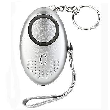Amazon.com: SOS Alarma Personal con LED Flashlight – 130dB ...