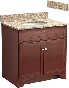 Foremost COCAT3021-8W 30-Inch Columbia Bathroom Vanity ...