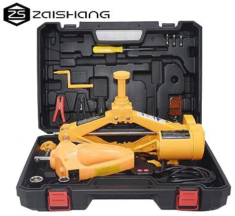 Kit ZS ZAISHANG con gato eléctrico 12V de2toneladas (de