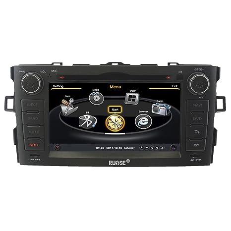 Rupse para Toyota Auris 2007 - 2011 Indash DVD GPS ...