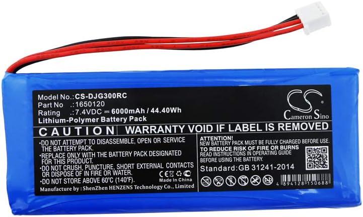 Bateria para DJI 1650120 GL300C GL300F Inspire 1/2/3/4/4 Pro