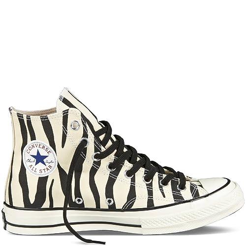 6fefa4f894e6 Converse CT Chuck Taylor 1970 Premium Hi Men s Shoes Zebra Print  Natural Black 142279C  Amazon.ca  Shoes   Handbags