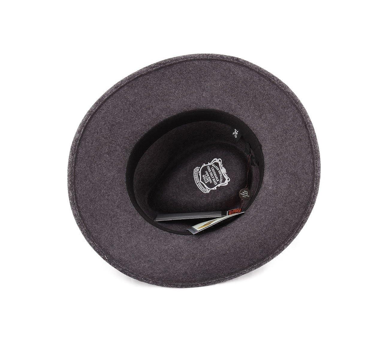 Classic Italy - Sombrero fedora plegable ala ancha hombre Classique Large   Amazon.es  Ropa y accesorios 3bc07a819103