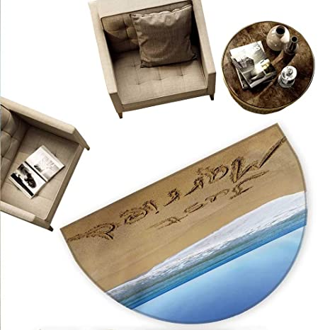 Amazon.com: Cojín semicircular de boda para escribir a mano ...