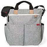 Skip Hop Duo Signature Diaper Bag, Grey Melange