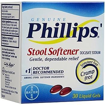 Amazon Com Phillip S Stool Softener Liquid Gels 30 Ct