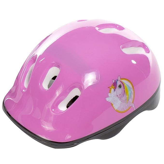 Sk8 Zone - Juego de patines acolchados para niños, diseño de unicornio, color rosa y blanco: Amazon.es: Deportes y aire libre