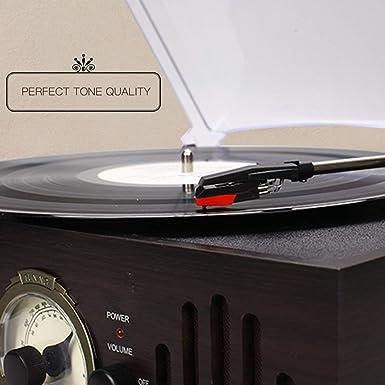 Placa giratoria fono de cerámica sustitución de cartuchos de la aguja para el disco de vinilo jugador del fonógrafo