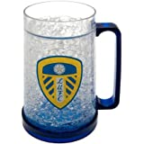 Leeds United FC Official Football Gift Plastic Freezer Tankard - A Great Christmas / Birthday Gift Idea For Men And Boys