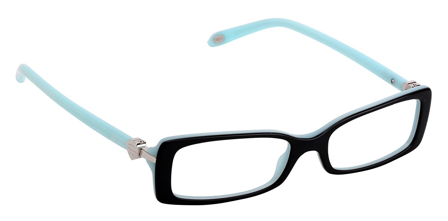 Amazon.com: Tiffany Eyeglasses TIF 2035 Eyeglasses 8198 Blue 52mm ...