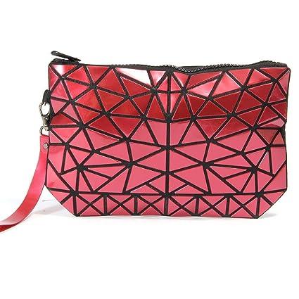 iBaste_top Bolsa de Almacenamiento portátil para Mujer, Bolso de Embrague de Viaje Plegable de cosméticos
