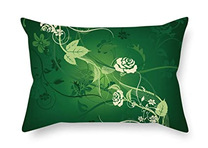 Amazon Com Artsdesigningshop Flower Cushion Cases Best For Bedding