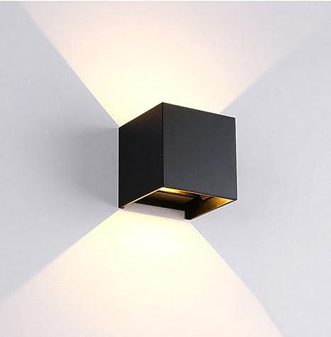 BOKT Minimalist Wall Mounted Lamp Outdoor Patio Waterproof LED Wall Light  Sconces Aluminum Adjustable Design Garden