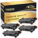 Arcon Compatible Toner Cartridge Replacement for TN850 TN-850 TN820 TN-820 HL-L6200DW MFC-L5900DW Brother HLL6200DW HL-L6200DWT HL-L5100DN HL-L5200DW MFC L5900DW L5800DW L5700DW L5850DW L6800DW Pinter