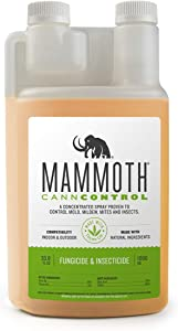 Mammoth CANNCONTROL Concentrated Insecticide Spray for Plants, Organic Pesticides for Vegetable and Spider Mites Spray for Indoor Outdoor Plants (1 Liter)
