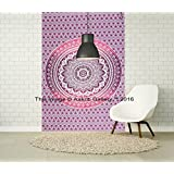 Tapestry Single Purple Ombre Unique Wall Hanging Art Decor Mandala Tapestries Hippie Dorm 84X55 inches AAKRITI GALLERY …