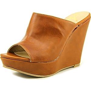 American Rag Sloan Women US 5 Tan Wedge Sandal