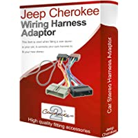 Jeep Cherokee radio CD estéreo arnés de cableado