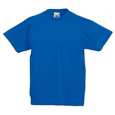 c07268457ae29 Fruit of the Loom T-Shirt pour Enfants - Différentes Couleurs Disponibles   Amazon.fr  Vêtements et accessoires