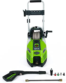 GreenWorks GPW2001 2000 PSI Electric Pressure Washer