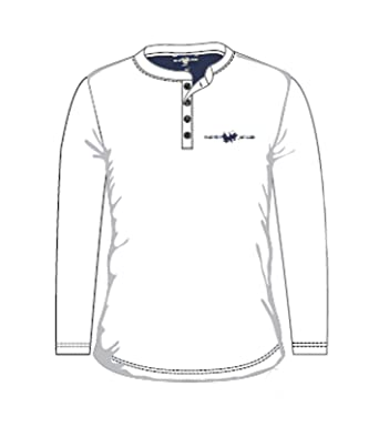 HARVEY MILLER POLO CLUB Camisa de Manga Larga Camisa de Hombre ...