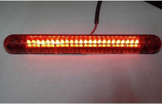 Sonline Bombilla Tercera 14 LED 12V Luz Rojo Freno para Coche