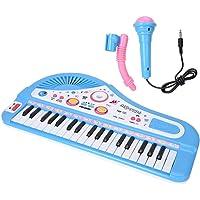 Garosa Piano Keyboard Toy 37 Keys Teclado eléctrico Musical multifunción Toy con micrófono para niños de 3 4 5 6 años…