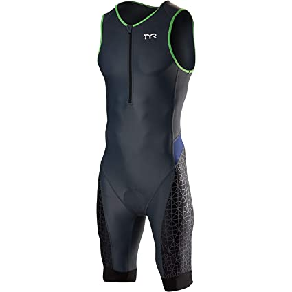 74ee6474c0 Image Unavailable. Image not available for. Color: TYR Men's Competitor Tri  Suit ...