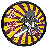 Cartoon Japan Movie Ninja Wall Clock